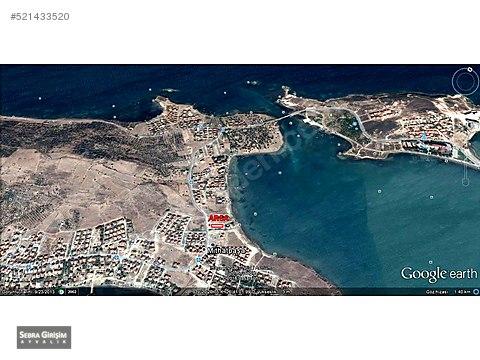 Cunda Adası'nda Full Deniz Manzaralı Villa Arsası...