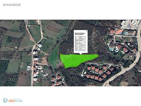 Bademlide Villalara sınır Planda 30 metre yola...