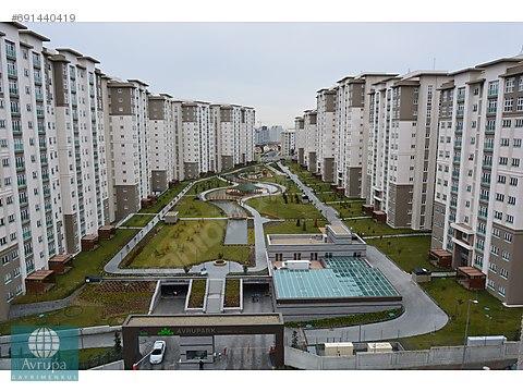 Bahçeşehir Avrupark'da Kiralık 4+1 Daire 185m2