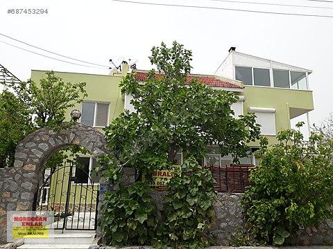 mordoğan emlak tan merkezde kiralık dublex ev