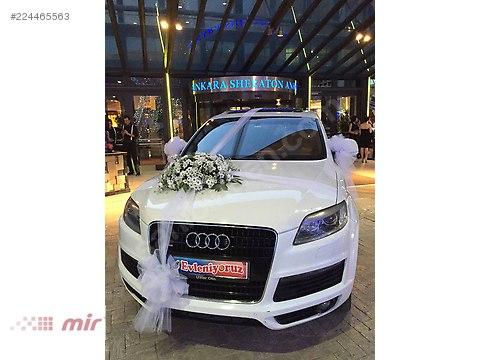 AUDI Q7 SİYAH BEYAZ GRİ RENT A CAR KİRALAMA KASKOLU JİPLER #224465563