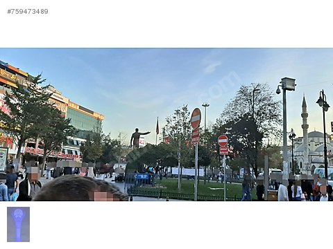 Gaziosmanpaşa Merkez-Bağlarbaşı Caddesi-Kiracılı-Satılık...