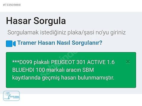 PEUGEOT AKTİF-İRİYIL 301 ACTİVE 1.6 BLUEHDİ 100HP...