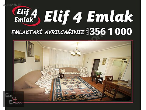 ELİF 4 EMLAK'TAN TEPEBAŞINDA ORTA KAT ÖN CEPHE...
