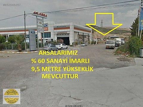 Defne Gayrimenkul'den Opet Arkası 2650 m2 %60 Ticari...