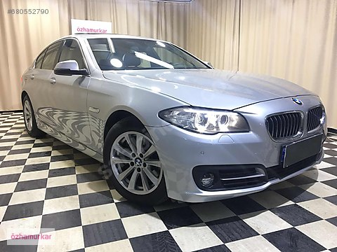 ÖZHAMURKAR-2014 ORJİNAL BMW 5.20İ COMFORT 1.6 170...