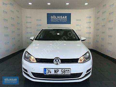 GÖLHİSAR'da 2015 VW GOLF 1.6 TDI COMFORTLİNE DSG...
