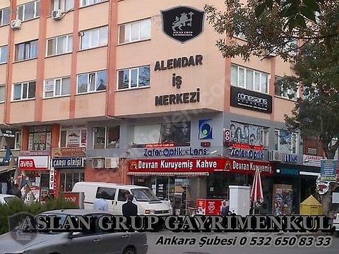 ALEMDAR İŞ MERKEZİNDE , 23 m2 OFİS, BÜRO, SATILIKTIR.