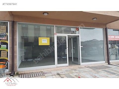 uysal inşaattan kiralık dükkan