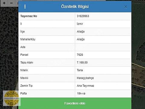 Bülent ATEŞCİ'den Haraççıbahçede 450 m2Hissemiz...
