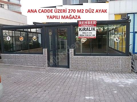 YENİMAHALLEDE KÖŞE, İŞLEK ANA CADDE ÜZERİ, 270M2...