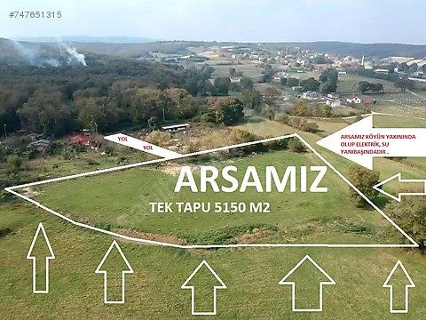 TEK TAPU !!!! 5150 M2 ARSA köy içi