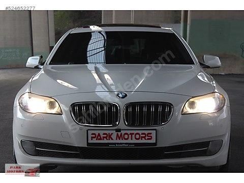 PARK MOTORS 2011 BMW 5.20d EXCLUSİVE BAYİ-SUNROOF