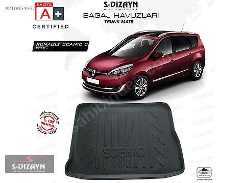S-Dizayn A+ Kalite Renault Scenic 3 Bagaj Havuzu #216654997