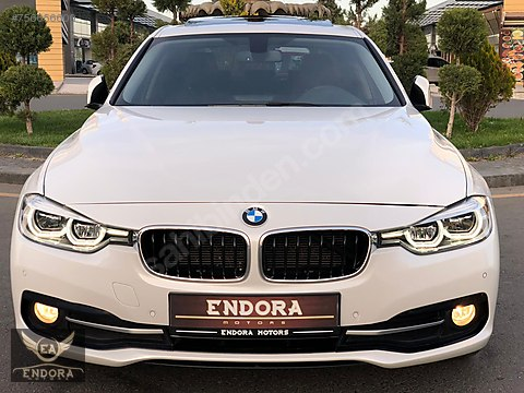 ENDORA MOTORS'dan 2017 BMW 3.18d SPORT PLUS SOS+LED+SUNROOF+DERİ