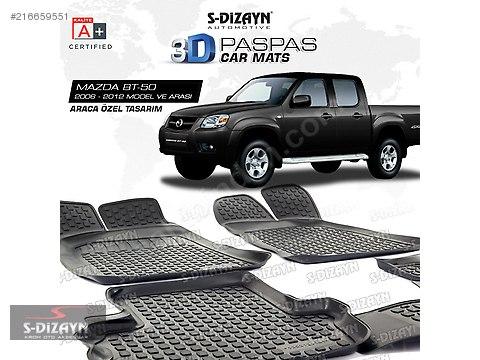 MAZDA BT50 3D Havuzlu Paspas 2006 ve Üzeri #216659551