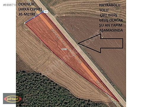 TEKİRDAĞ-HAYBOLU ASFALT YOLUNA 193METRE CEPHELİ...