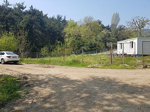 Bursa Mudanya Çepni köyünde 402 m2 hobi bahçesi