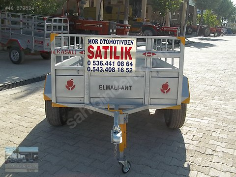 MOR OTO RÖMORK TAN ÇİFT TEKER ALÇAK İLAVELİ133+230...