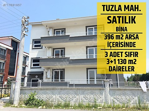 SAKARYA TUZLA MAHALLESİNDE 390 M2 ARSA İÇERİSİNDE...