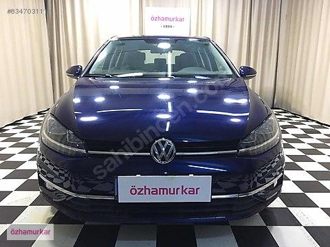 ÖZHAMURKAR-2018 ORJİNAL VW GOLF 1.6 TDI BMT COMFORTLİNE...