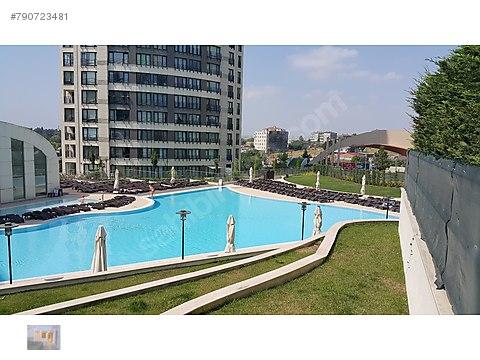 Deniz'den Bosphorus City'de eşyalı 1+1 71m2 kiralık...