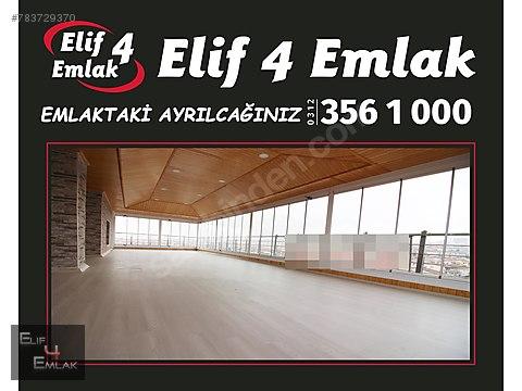 ELİF 4 EMLAK'TAN ATIŞ CAD ULTRA LÜKS YAPILI ASANSÖRLÜ...