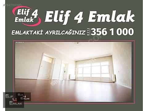 ELİF 4 EMLAK'TAN TEPEBAŞI GÖBEKTE GÜNEY CEPHE 3+1...