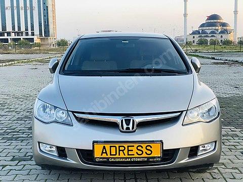 AUTO ADRESS TEN 2008 HONDA CİVİC+PREMİUM+OTOMOTİK+TÜRKİYEDE...