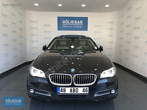 GÖLHİSAR'dan2016 BMW 520İ PREMİUM VAKUM+HAYALET+ELEKTRİKLİ...