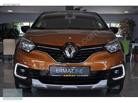 ERMATLİNE 2018 Renault Captur 1.2 Turbo Icon EDC...