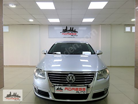 ADRESS AUTO'dan 2008 VW PASSAT 2.0 TDi DSG KM:174...