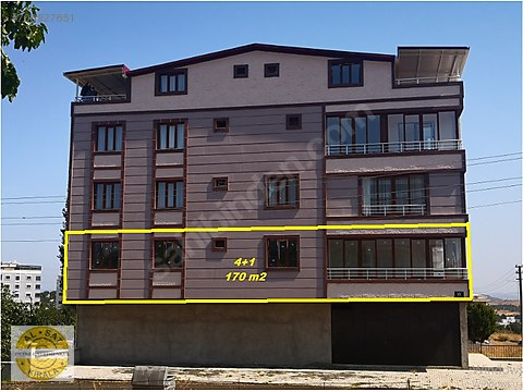 Bülent ATEŞCİ'den Yeni Mah. 4+1 Daire 170 m2 Kullanım...