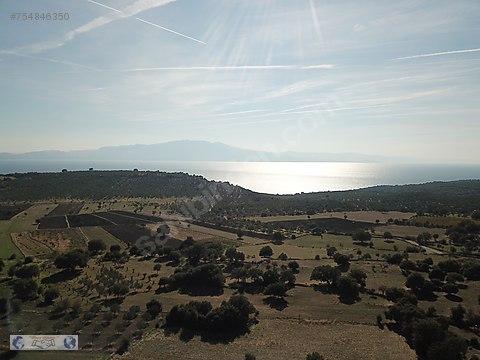 Assos Korubaşı'nda Satılık 6880 m² Arazi
