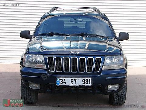 BAŞKAN JEEP'DEN 2001 ORİJİNAL GRAND CHEROKEE V8...