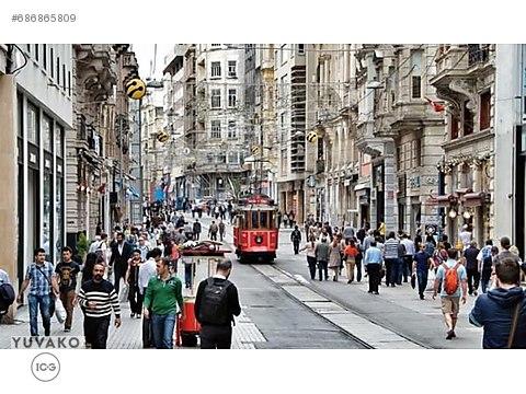İCG TAKSİM İSTİKLAL'DE 21 ODALI+CAFE EŞYALI DEVİRSİZ...