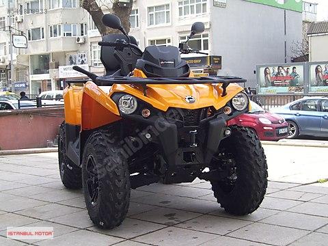 İSTANBUL MOTOR-CAN-AM 450 MAX DPS-T3 TRAKTÖR STOKTA