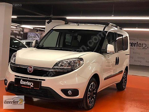 2016 FIAT DOBLO 1.3 M.JET E5 95 HP PREMIO PLUS...