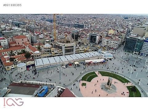 İCG TAKSİM İSTİKLAL CADDESİ'NDE 840m2 TARİHİ RUSTİK...