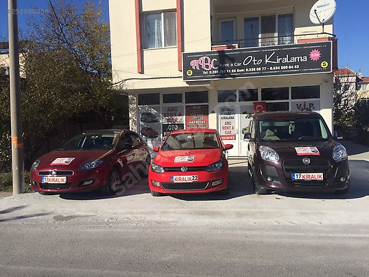 ABC RENT A CAR ÇANAKKALE 0536984 08 77