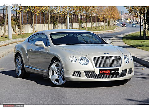 EYMEN MOTORS 2012 MODEL BENTLEY CONTİNENTAL GT...