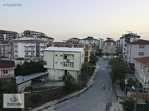 MAVİAY'DAN TEPE BÖLGESİNDE MANZARALI SÜPER 2+1
