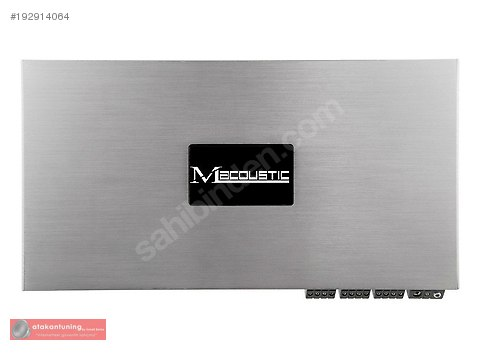 M-Acoustic MPD 900.6 6 Kanallı Oto Amfi #192914064