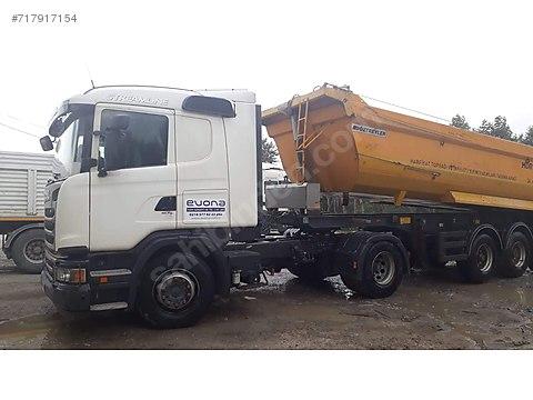 Evona Lojistikten Satılık temiz Scania Roterdar...