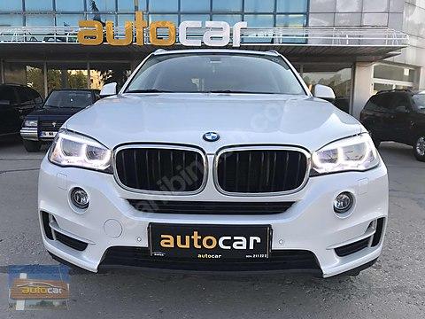 AUTOCAR 2016 BMW X5 2.5 xDrive PREMİUM CAMTAVAN/HAYALET/BAYİ