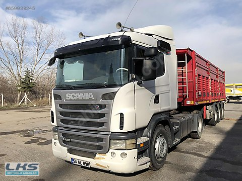LKSDEN 2011 SCANIA G420 EURO 4 RETARDERLİ