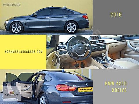KORKMAZLAR 2016 BOYASIZ BMW 420d XDRIVE GranCoupe...