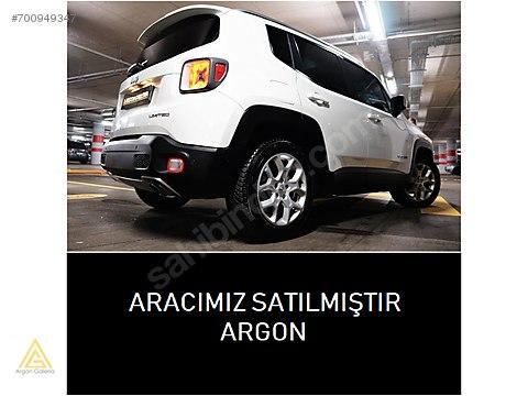 ARGON's JEEP RENEGADE DİZEL BOYASIZ CAM TVN, TAM...
