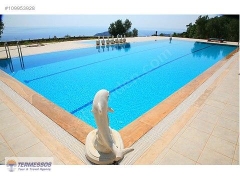 kiralık fırnaz koyunda doğa ve deniz manzaralı Villa  #109953928