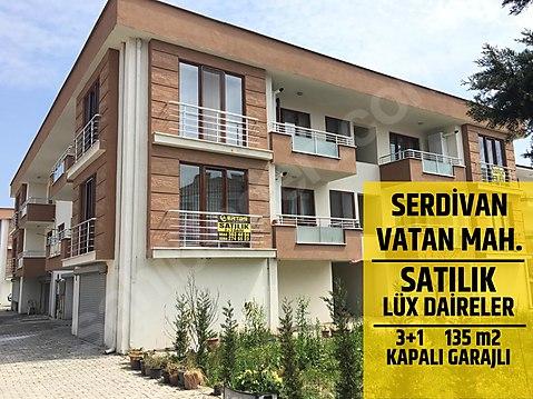 SERDİVAN VATAN MAHALLESİNDE SATILIK GARAJLI 3+1...